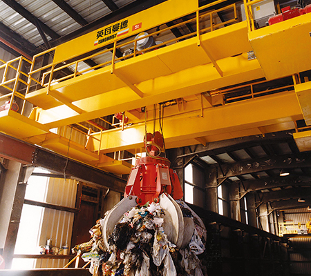 WASTE TREATMENT CRANE